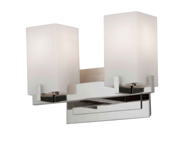 Feiss Barrington 2 Light Vanity Fixture Oil Rubbed Bronze: Two Light Vanity Fixture