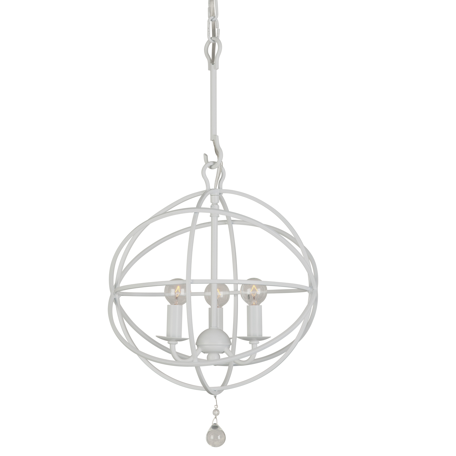 best pendants for white kitchens reviews ratings Under Cabinet Lighting Modern crystorama solaris in white 218