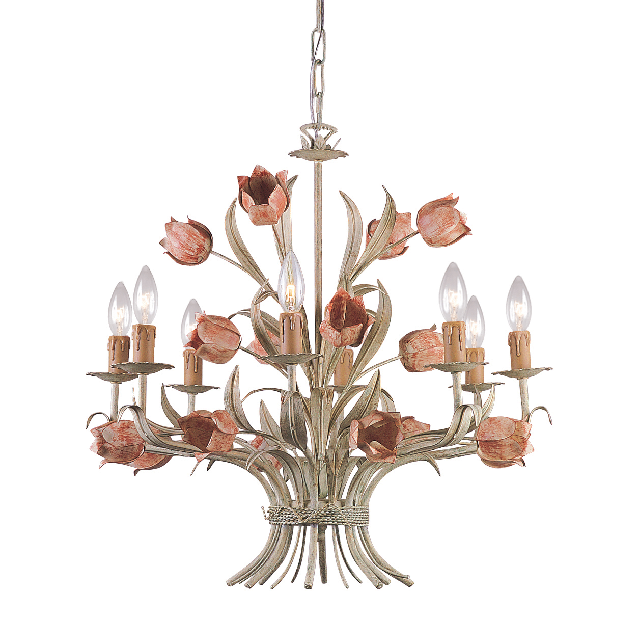Superior Crystorama Lighting Southport Chandelier Shabby Chic Lighting