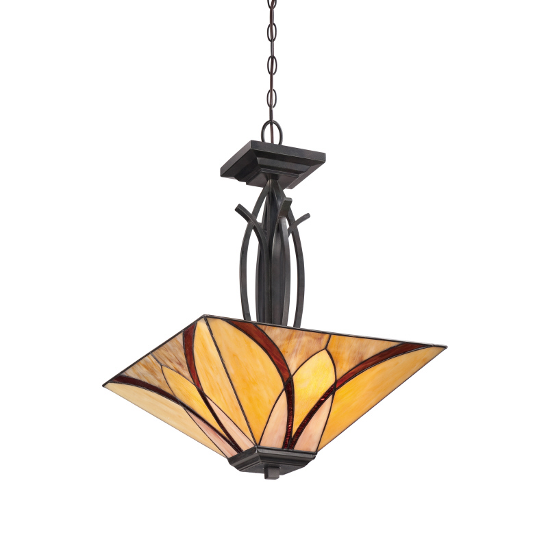 "Quoizel ""Asheville"" Pendant TFAS2817VA craftsman lighting"