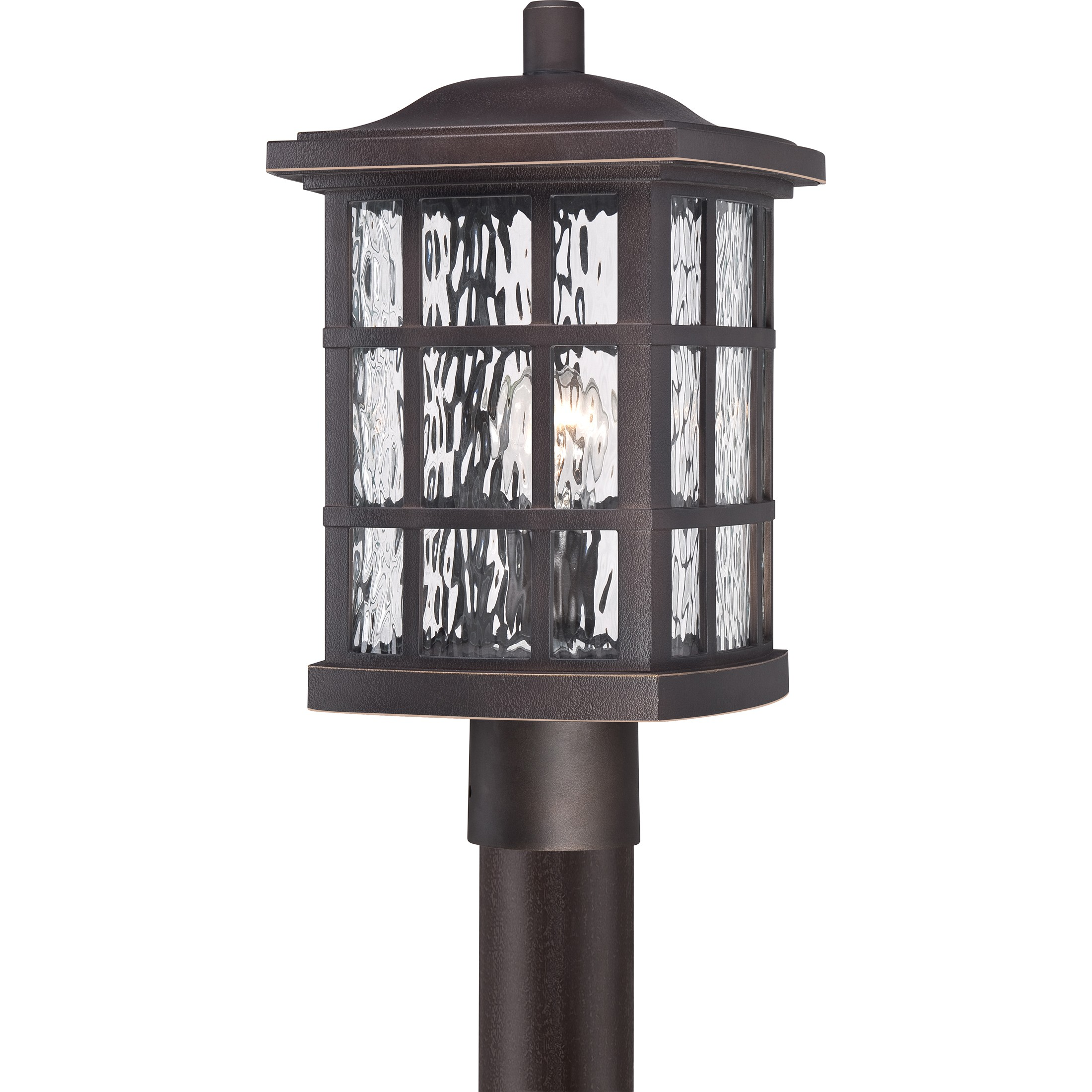 How do you light a craftsman style home quoizel stonington light post craftsman lighting aloadofball Choice Image
