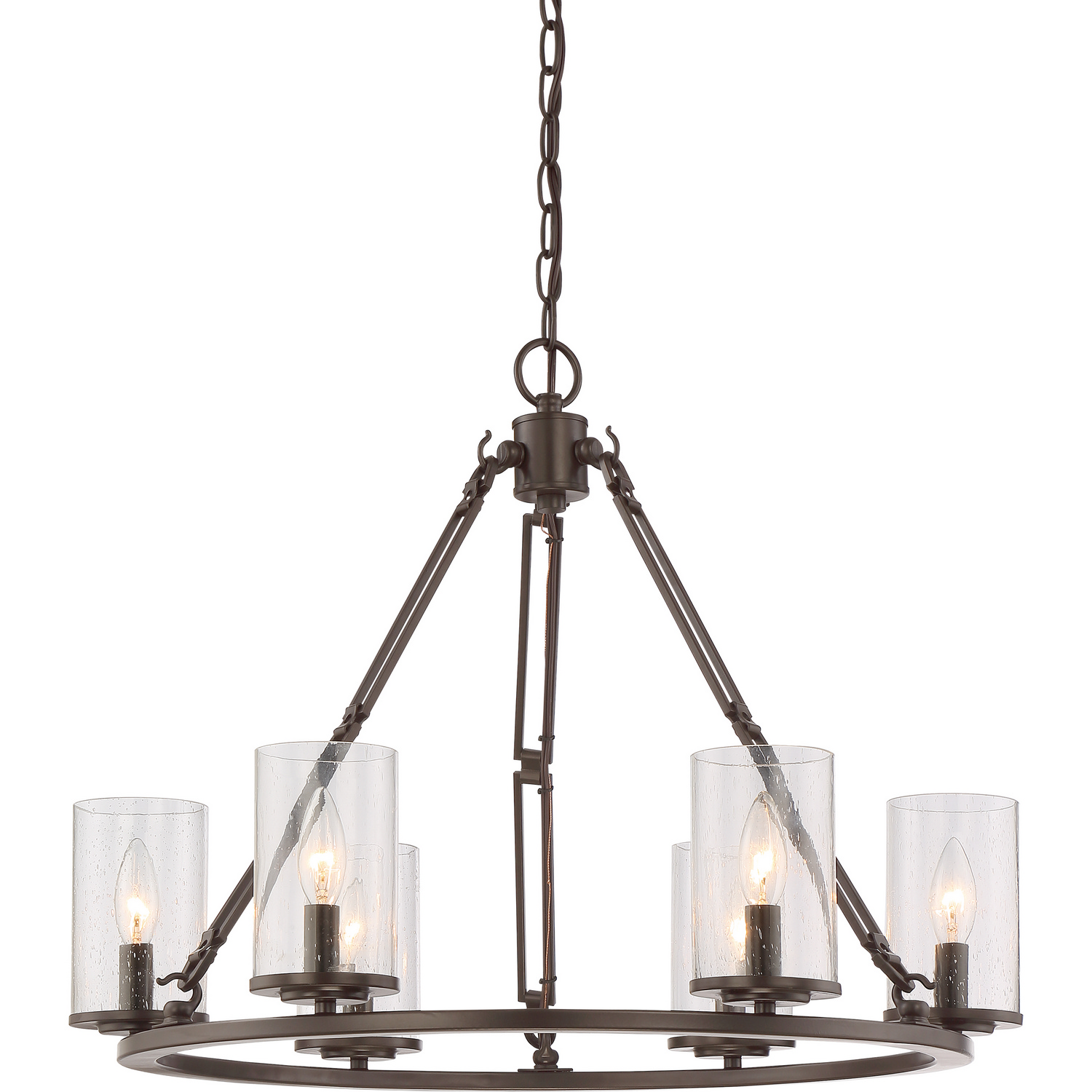 Quoizel Buchanan Chandelier American Craftsman Style Lighting