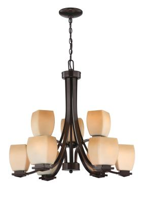 ... Lite Source - LS-18969 - Nine Light Up Lighting Chandelier - Dark Bronze  sc 1 st  Alexandria Lighting & Alexandria Lighting azcodes.com