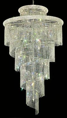 Elegant Lighting Spiral 41 Light Chandelier