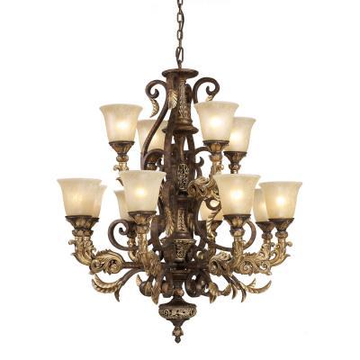 Elk Lighting Regency 12 Light Chandelier