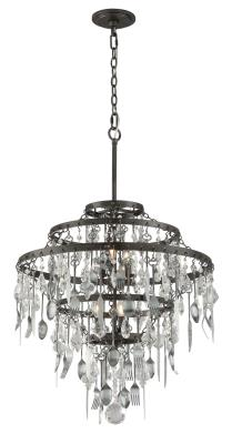 Troy Lighting Bistro Six Light Chandelier