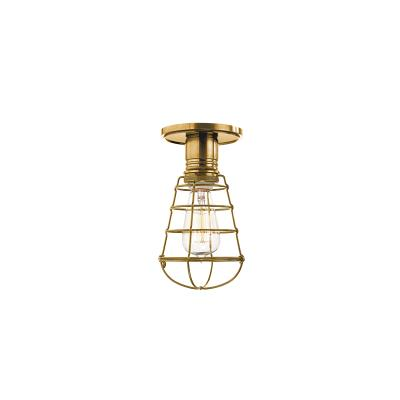 Hudson valley heirloom one light semi flush mount