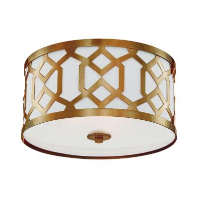 Crystorama jennings three light ceiling mount