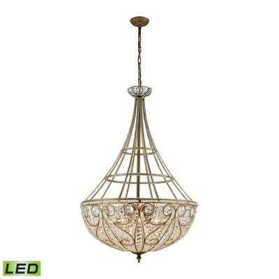 Elk Lighting Elizabethan Ten Light Chandelier