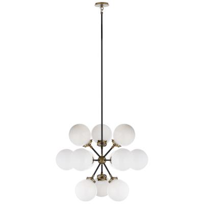 Visual Comfort Bistro 12 Light Chandelier