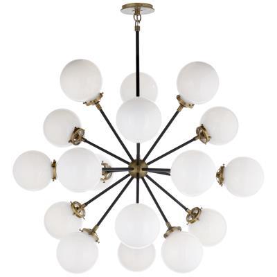 Visual Comfort Bistro 18 Light Chandelier
