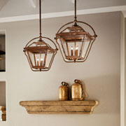 Pendants at Stokes Lighting