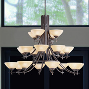 Large Chandeliers at Friedman Electric
