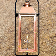 Gas Lanterns at Pioneer Lighting, Inc