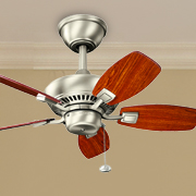 Small Fans at Home Lighting