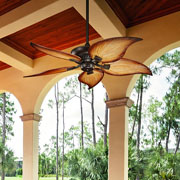 Outdoor Fans at Hacienda Lighting