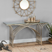 Console Tables at Courtesy Lighting