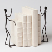 Bookends at Lamp & Shade Works