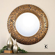 Round Oval Mirrors at Home Lighting