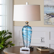 Art Glass Lamps at James & Company Lighting