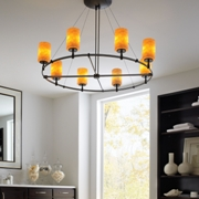 MonoRail Chandeliers at Home Lighting