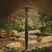 Landscape Lighting at Galleria Lighting