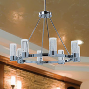 Medium Chandeliers at Lites Plus