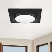 Recessed lighting at Crown Electric Supply