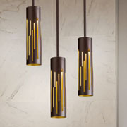 Mini Pendants at Courtesy Lighting