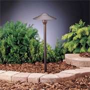 Landscaping at Jackson Moore Lighting