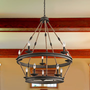 Rustic at Hacienda Lighting