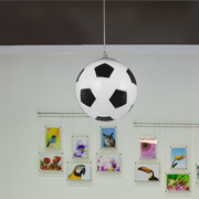 Sports Themed at James & Company Lighting