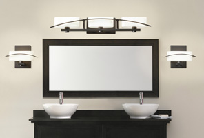 Bathroom LightsModern Fireplaces   Builder Specialties Inc . Hall Lighting Victoria Texas. Home Design Ideas