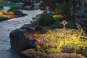 Landscape at Hacienda Lighting