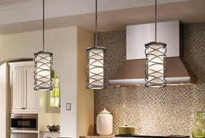 Pendants at Pioneer Lighting, Inc