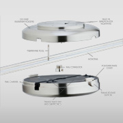 Rail Hardware at Abni`s Lighting