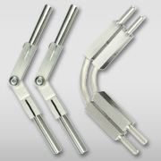 Wall Rail Hardware at Starlight Lighting